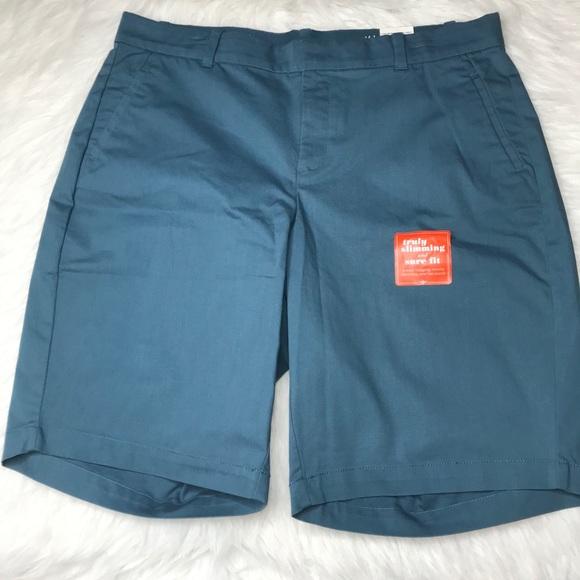 Dockers Women's Truly Slimming Shorts 16W Hi Rise